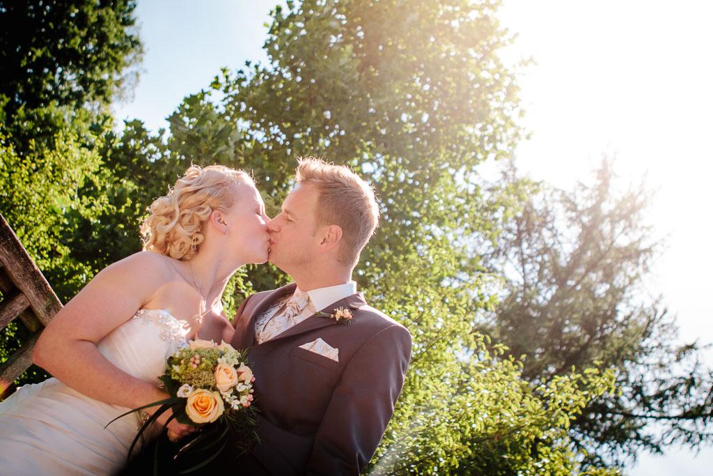 Sommerliche Hochzeit im Stadtpark in Lohne